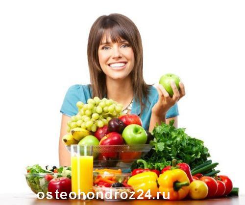 диета при шейном остеохондрозе у женщин гуд